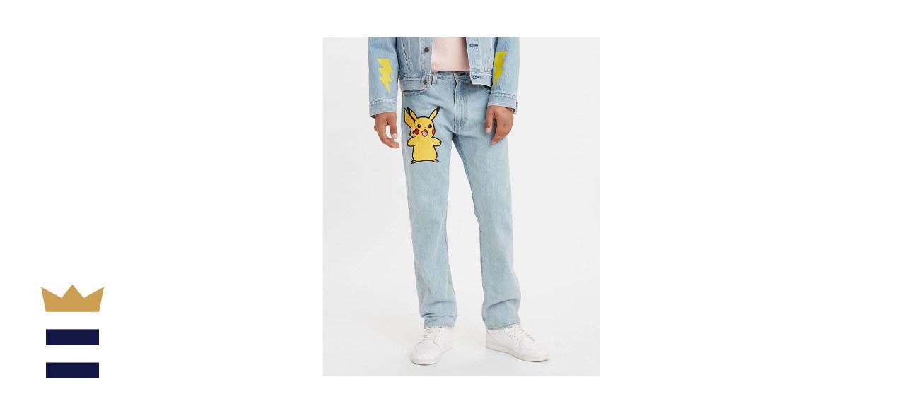 Levi's x Pokémon Authentic Straight Jeans