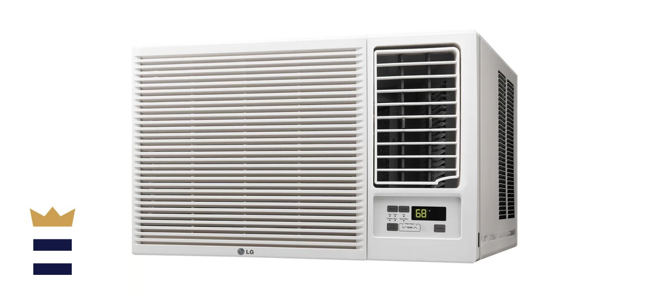 LG 18,000 BTU Energy Star Window Air Conditioner with Heater and Remote