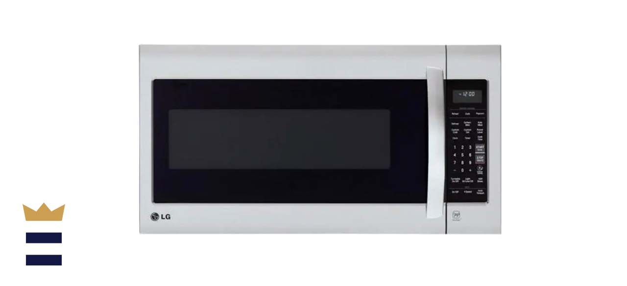LG Electronics 2.0 Cubic Feet Over-the-Range Microwave