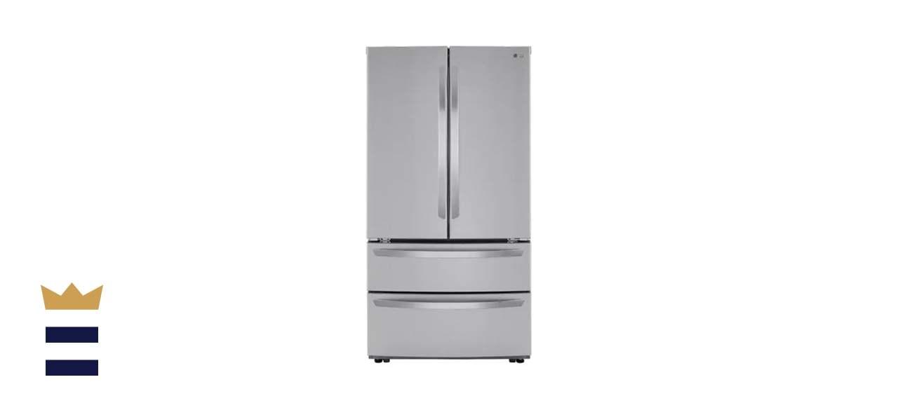 LG 27 Cubic Foot 4 Door Stainless Steel French Door Refrigerator