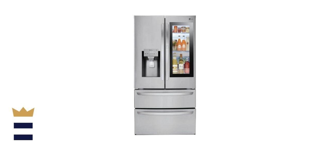 LG 28 Cu. Ft. Smart Wi-Fi Enabled InstaView Door-in-Door Refrigerator