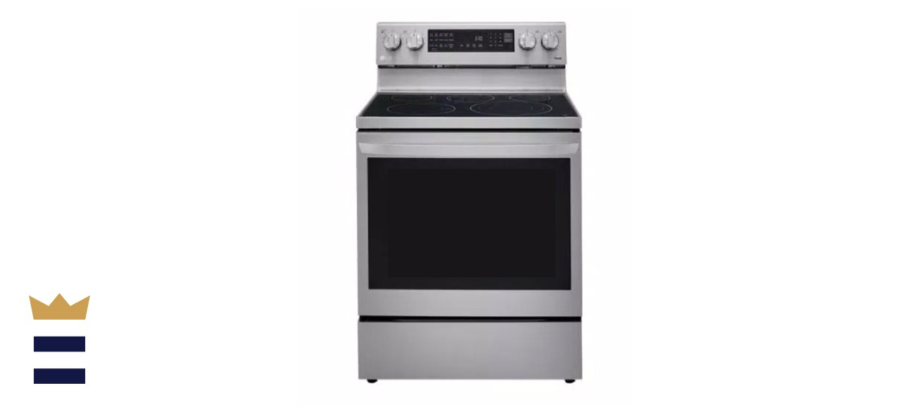 6.3 cu. ft. Smart True Convection InstaView Electric Range Single Oven