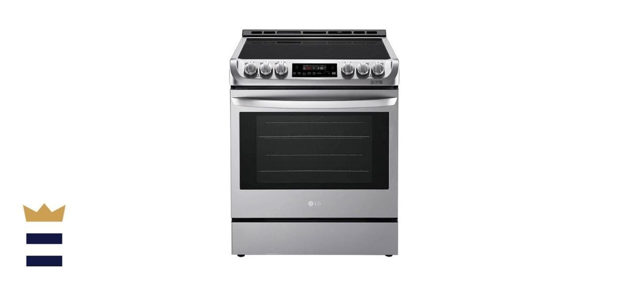 LG 6.3 Stainless Slide-In Electric Convection Range