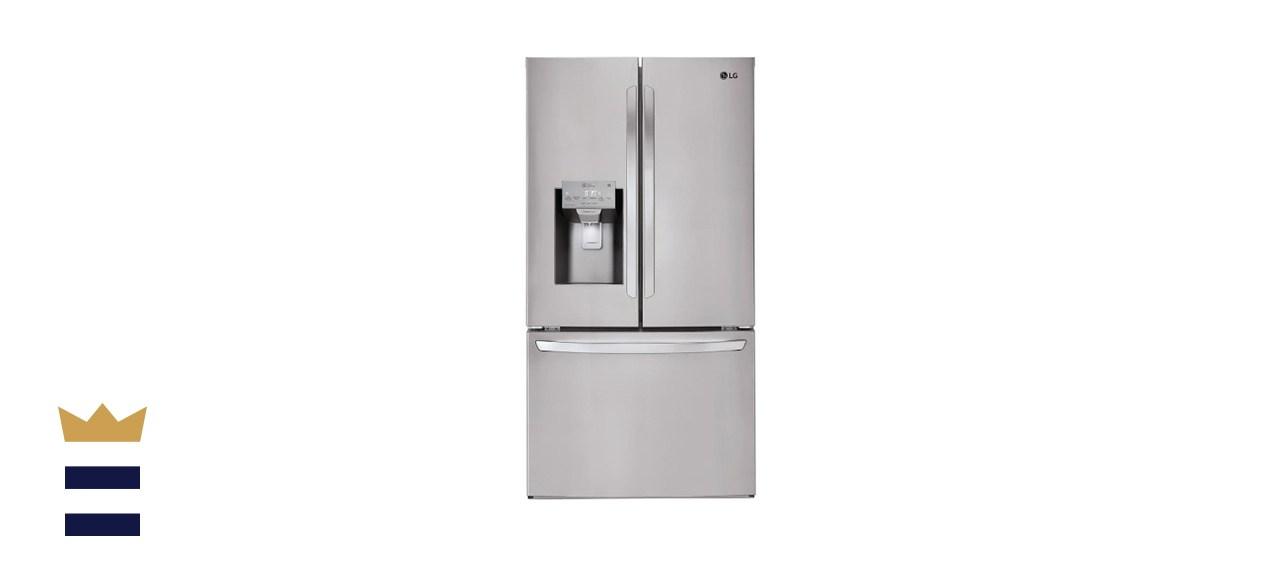 LG Electronics 26.2 Cubic Foot French Door Smart Refrigerator