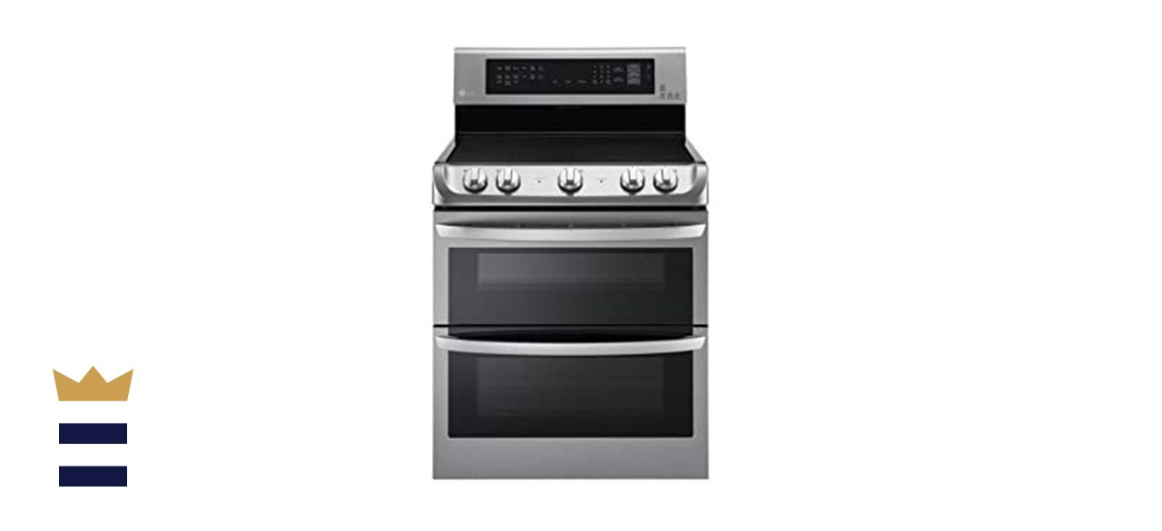 LG Electronics 7.3 Cubic Foot Double Oven Electric Range with ProBake Convection