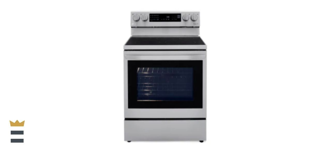 LG 6.3-Cubic Foot Self-Cleaning Slide-In Electric Range with ProBake Convection