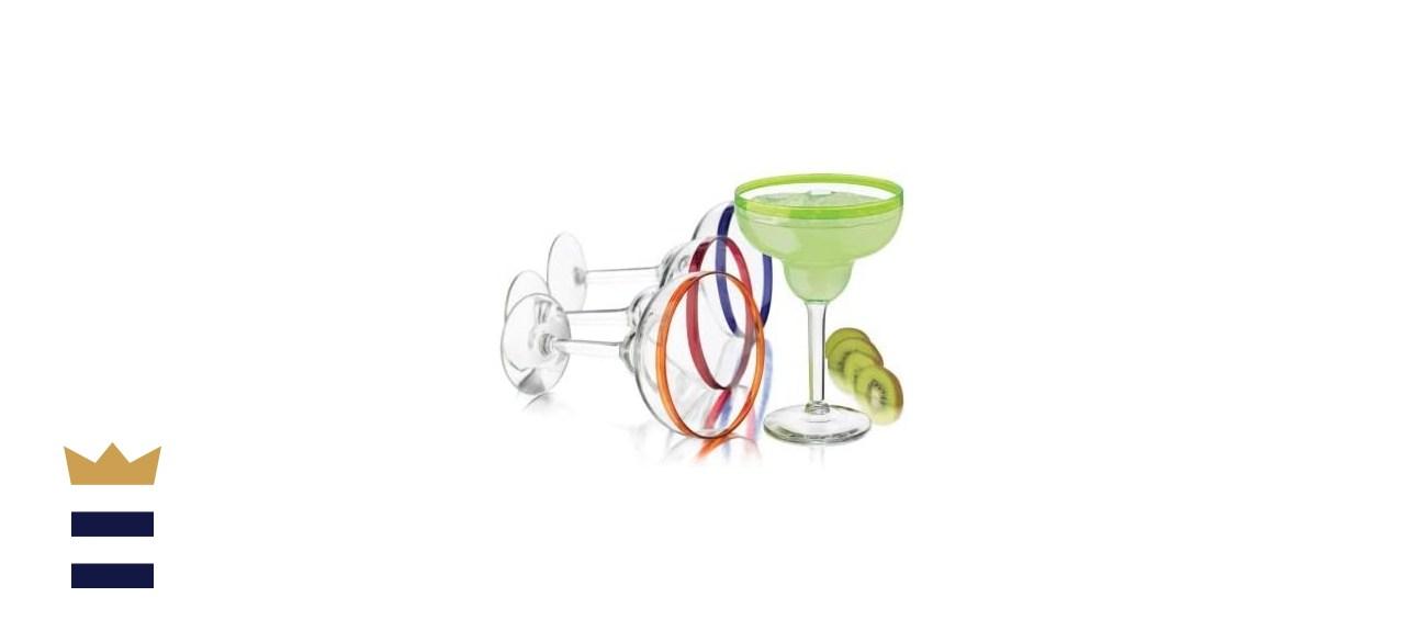 Libbey Colors Margarita Glass Set