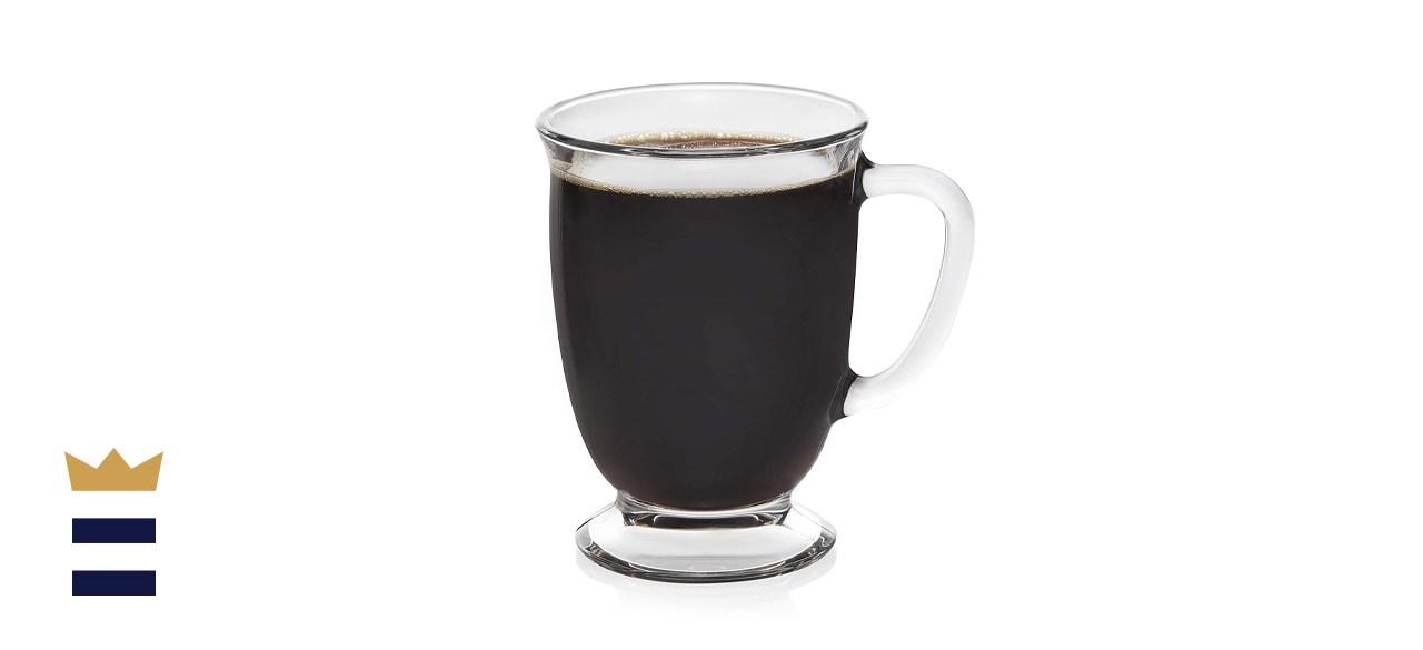 Libbey Kona Glass Coffee Mug Set