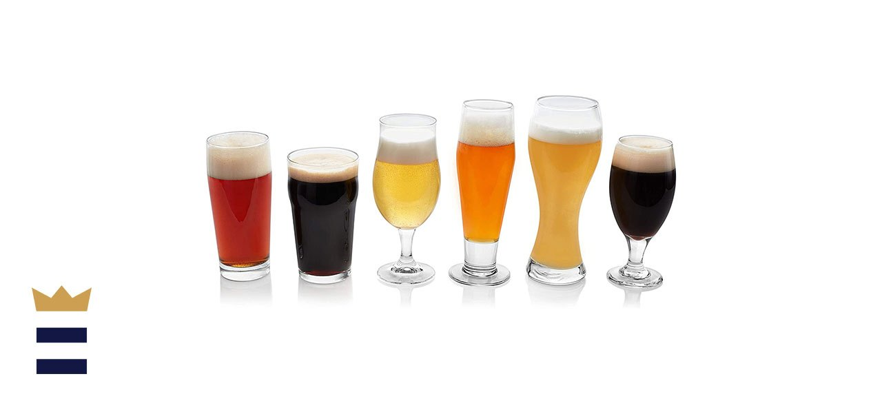 Libbey's Craft Brews Assorted Beer Glasses