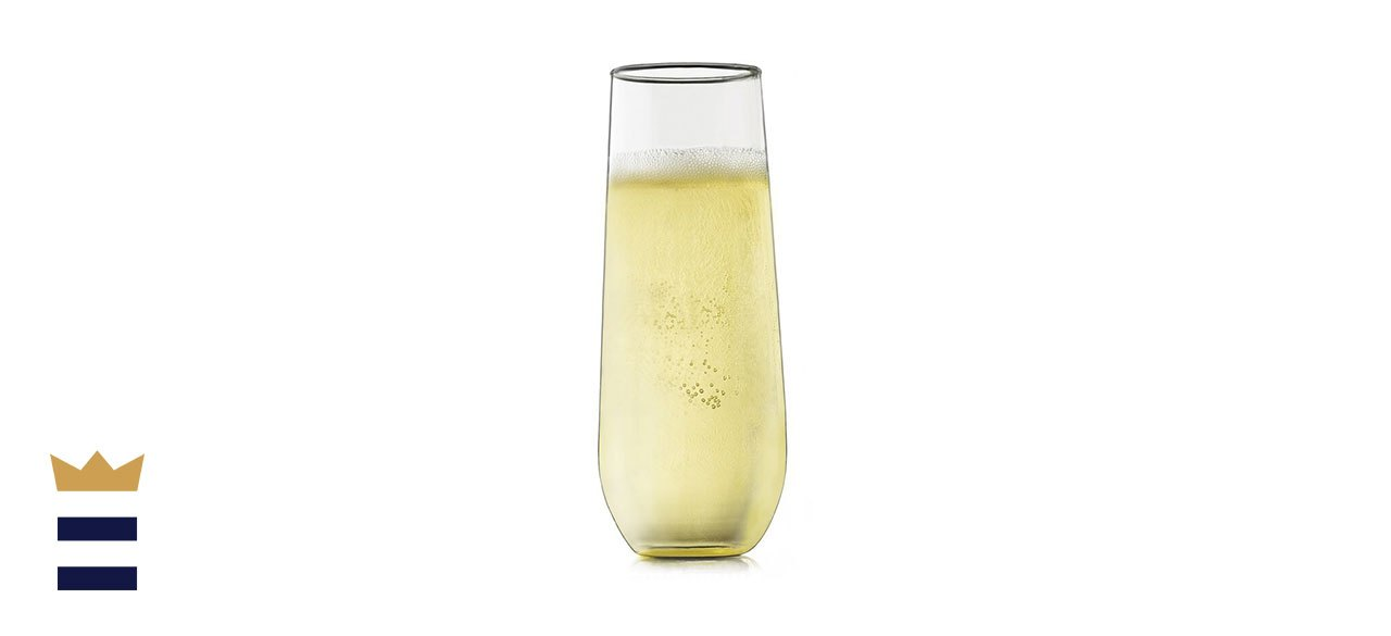 Libbey's Stemless Champagne Flute Set