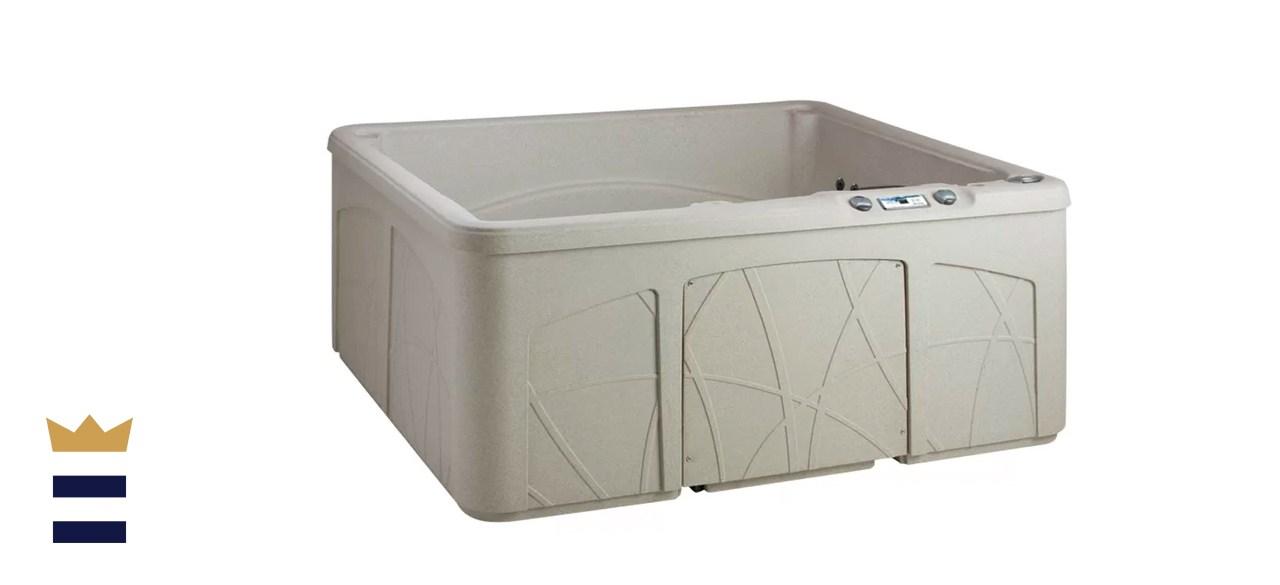 Lifesmart Spas 5 Person 28 Jet Plug and Play Hot Tub
