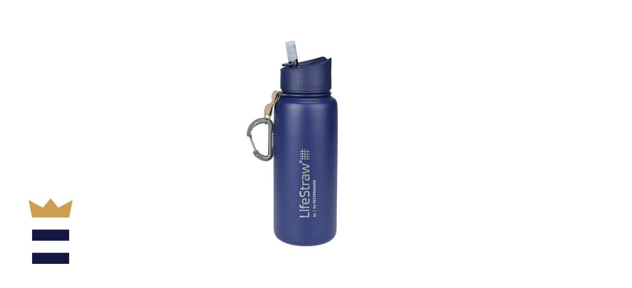 LifeStraw Go Stainless Steel Water Filter Bottle