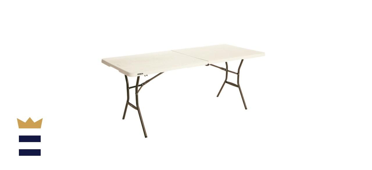 Lifetime 6-Foot, Fold-in-Half Table