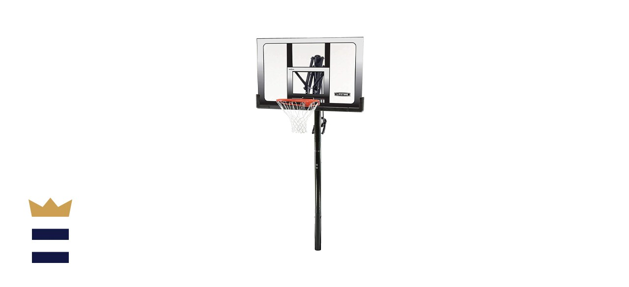 Lifetime In-Ground Power Lift Basketball System