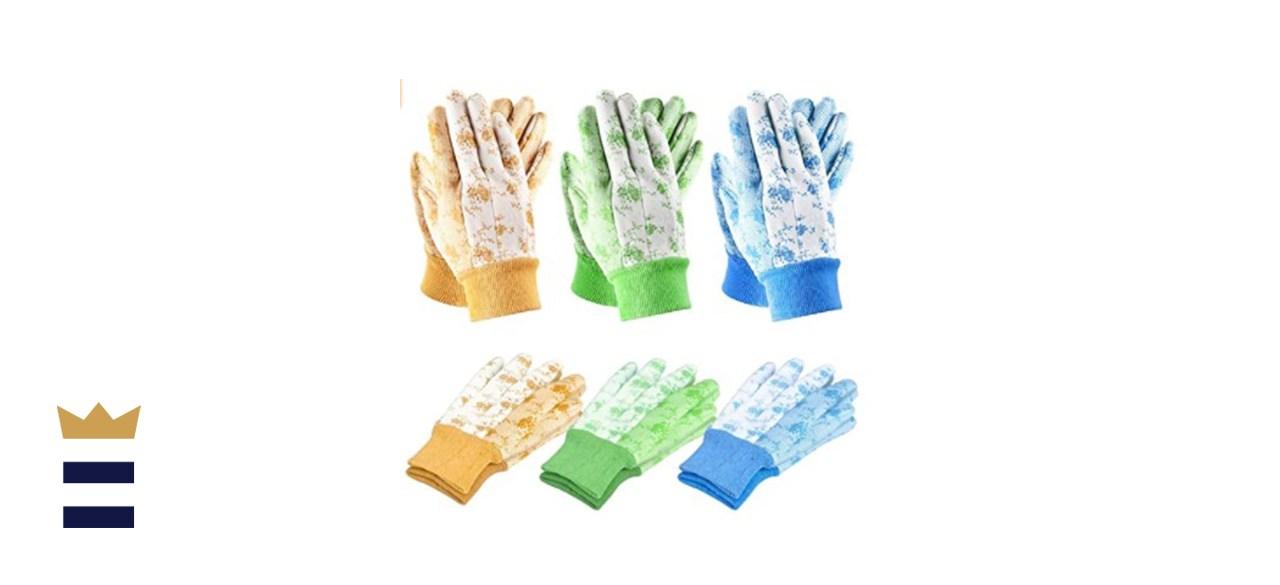 SEUROINT 6 Pcs Garden Gloves