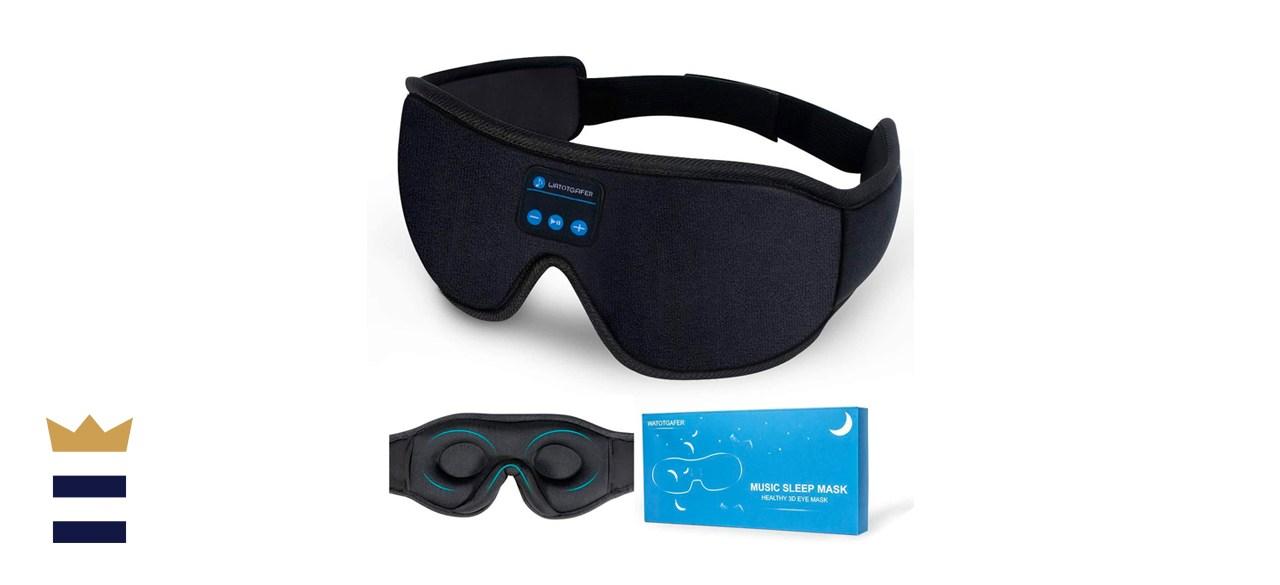 Lightimetunnel Bluetooth Sleep Headphones Eye Mask