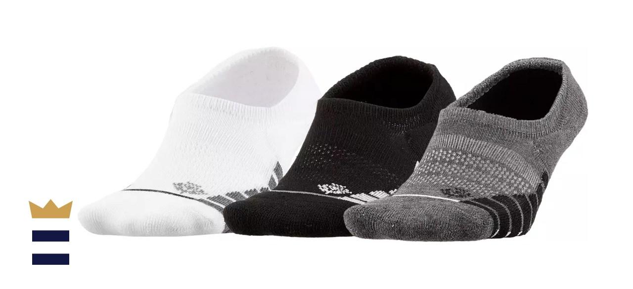 Lady Hagen Women's Striped Golf Footie Socks – 3 pack