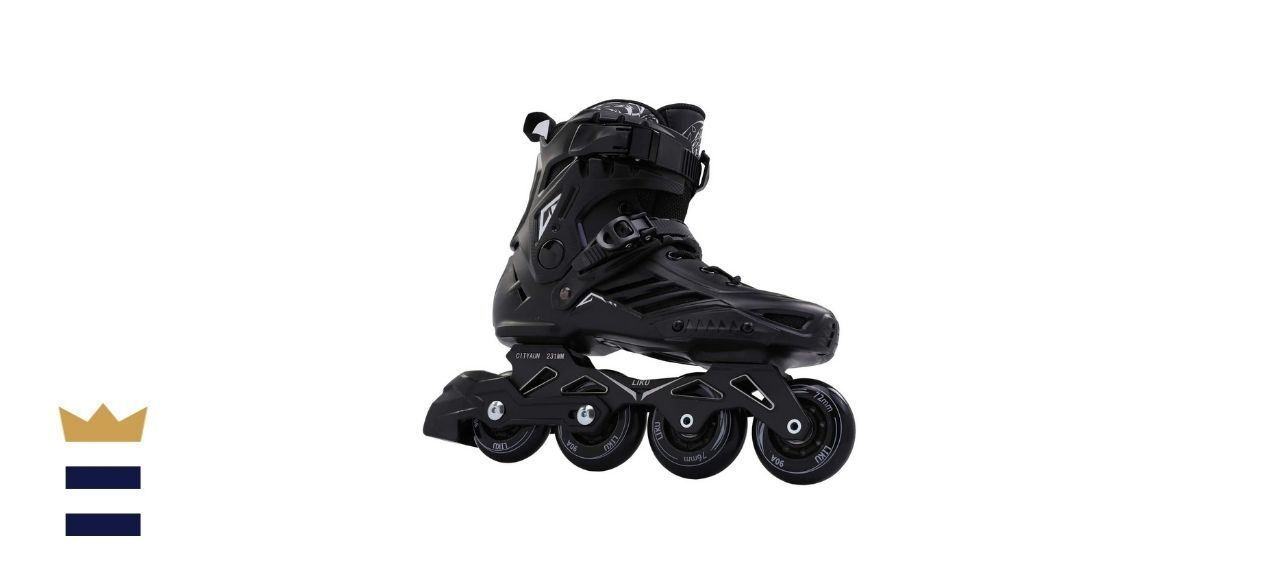 LIKU Black Professional Inline Skates
