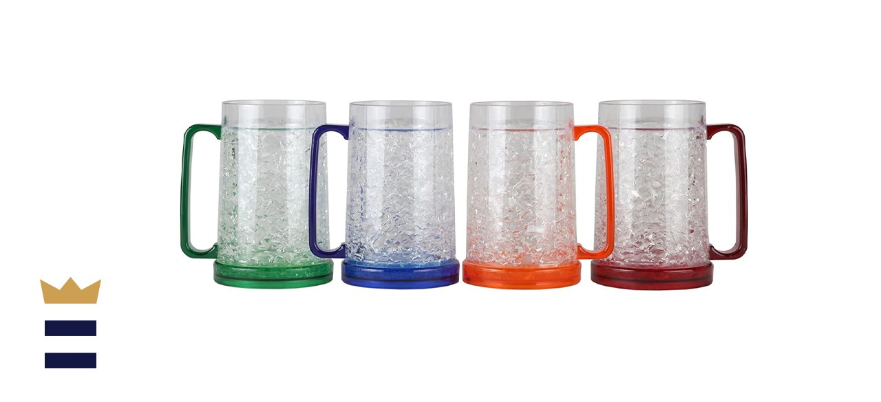 Lily's Home Double Wall Gel Freezer Mugs