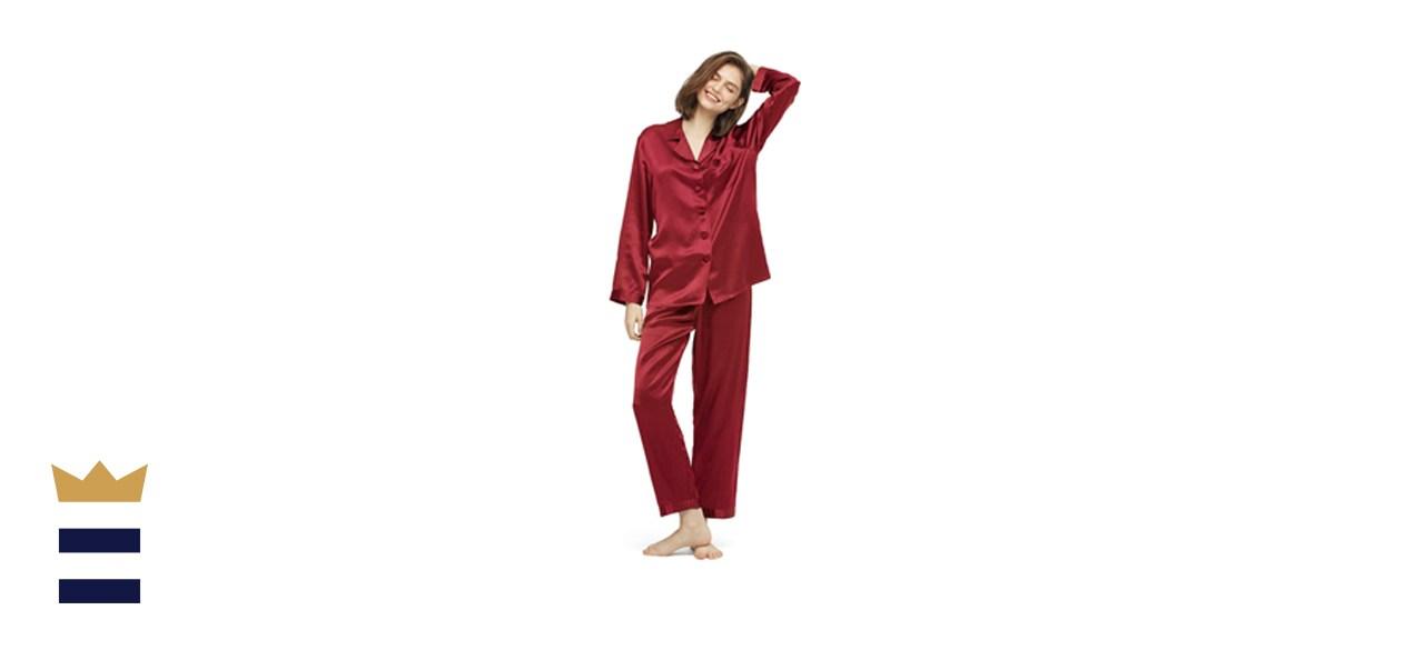 LilySilk Silk Pajamas Set