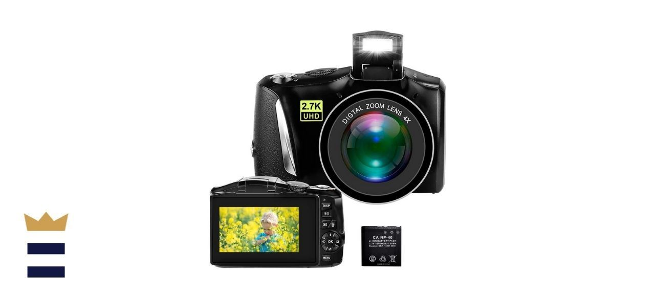 Lincom Tech Point and Shoot Camera for YouTube