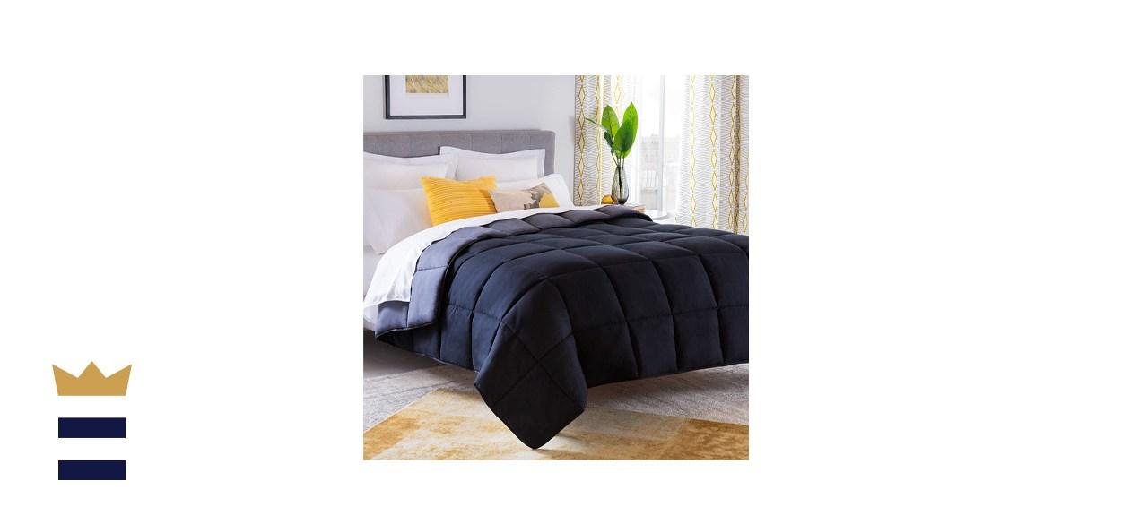 LinenSpa All-Season Hypoallergenic Down Alternative Microfiber Comforter