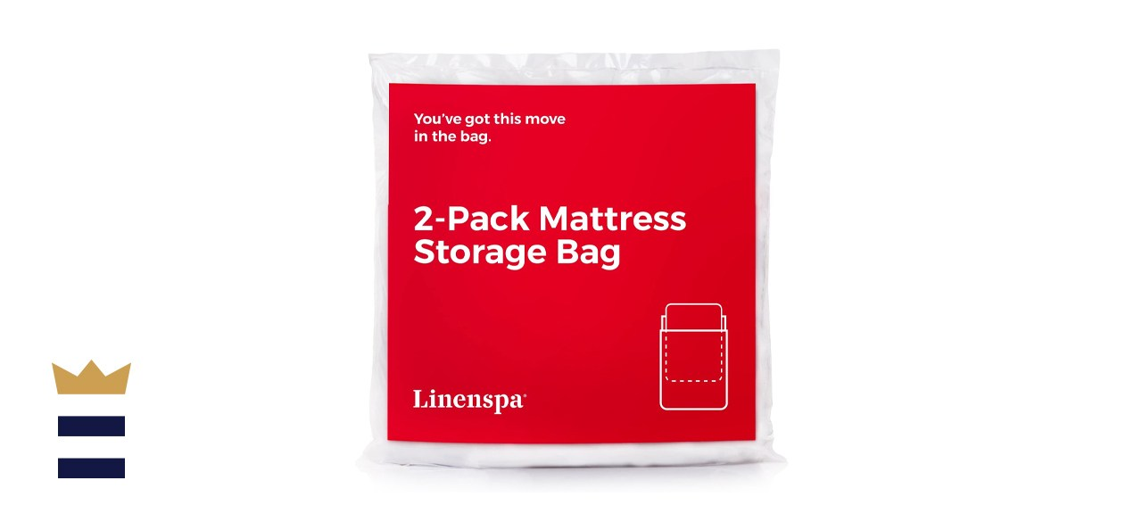 Linenspa Mattress Bag for Moving and Storage
