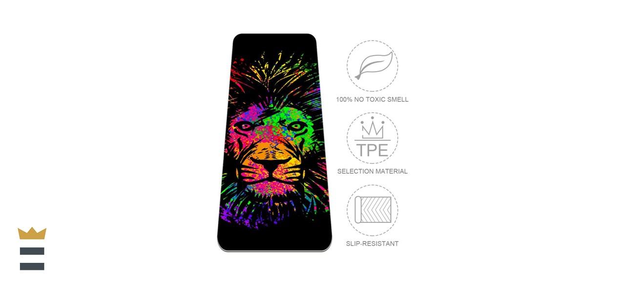 Lions Yoga Mat