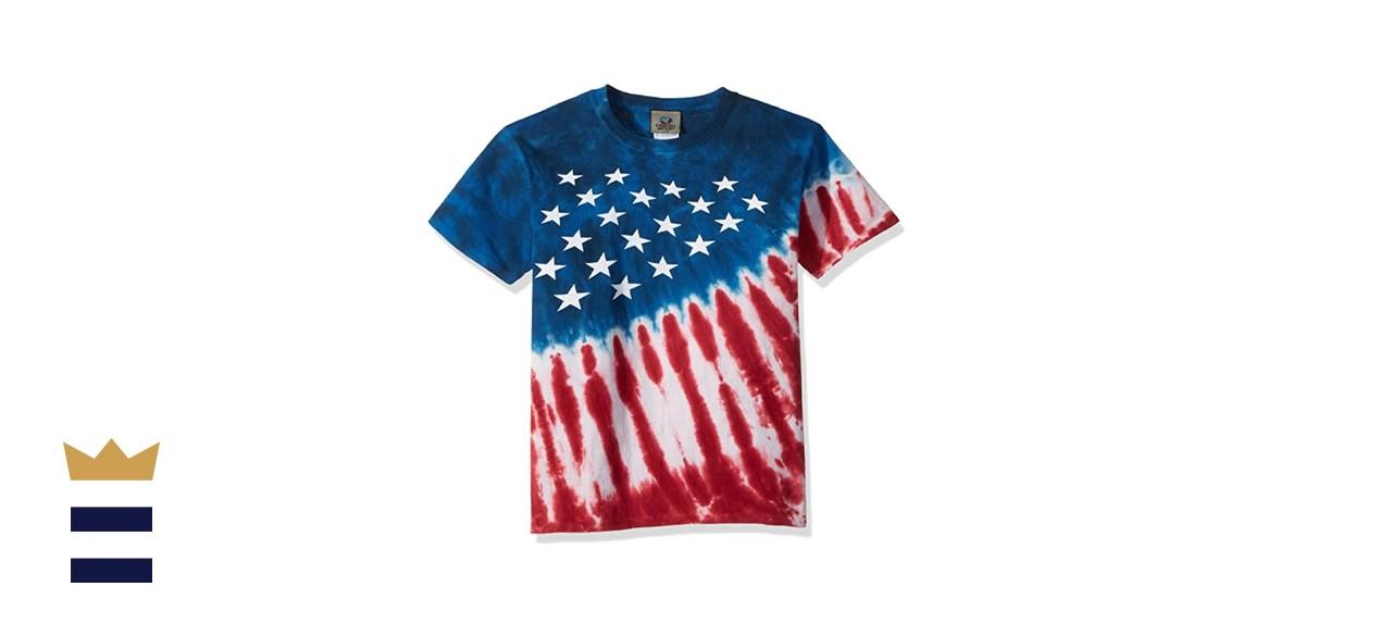 Liquid Blue Kids' Stars & Stripes Short Sleeve T-Shirt