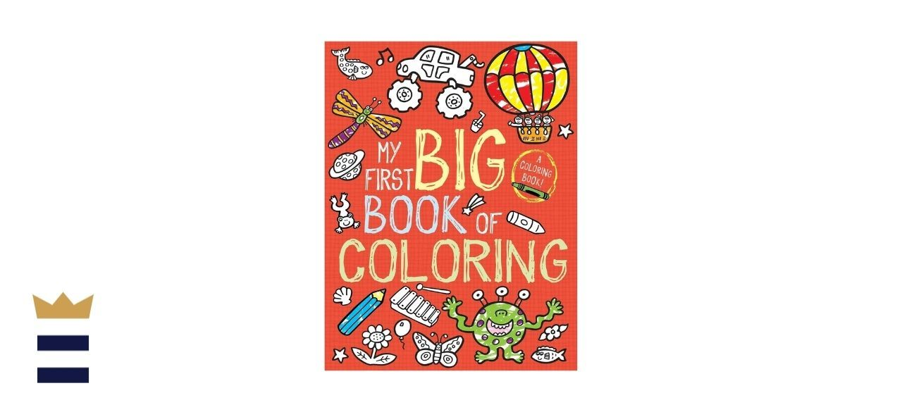 Little Bee Books My First Big Book of Coloring