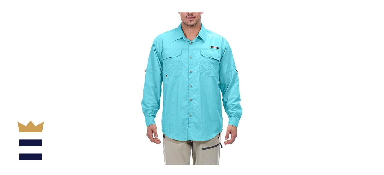 Little Donkey Andy Men's UPF 50+ UV Protection Shirt