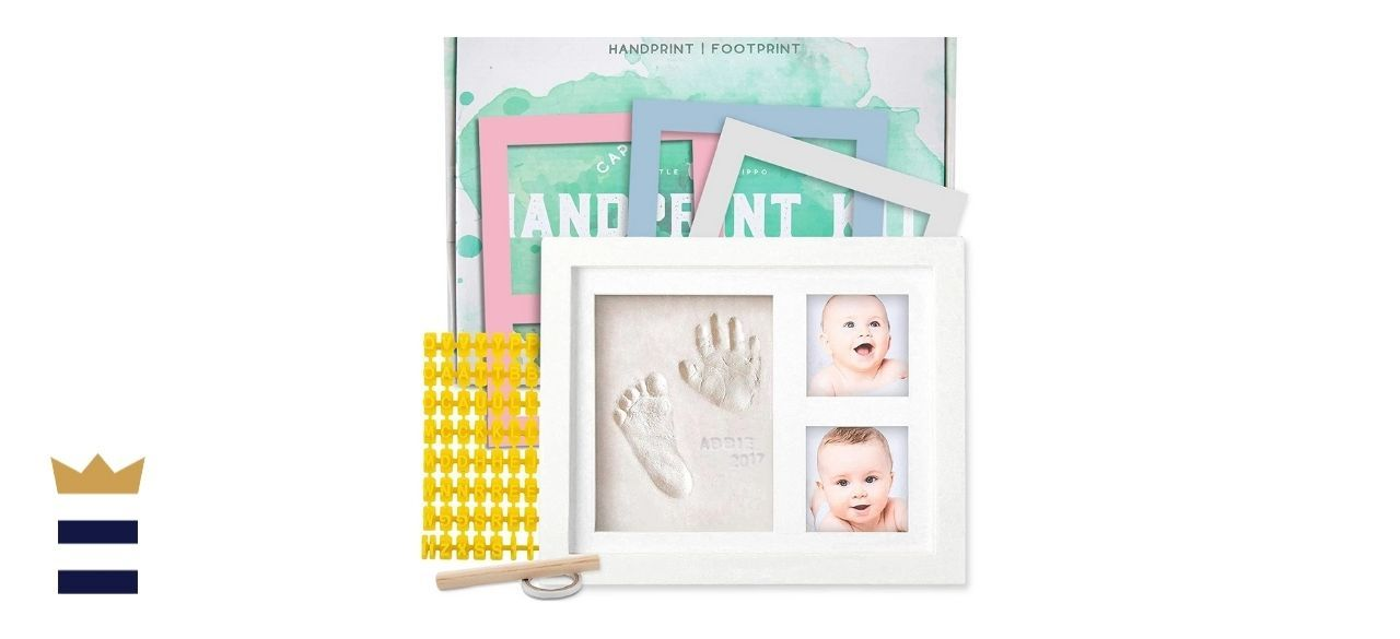 Little Hippo's Baby Handprint Kit