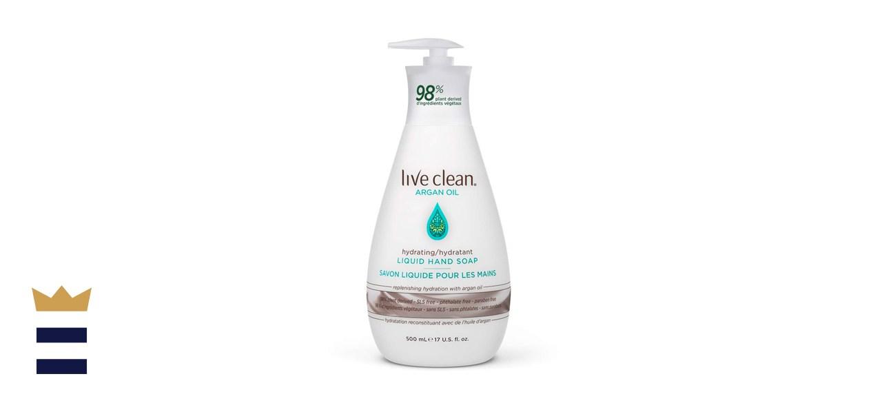 Live Clean Argan Oil Liquid Hand Soap