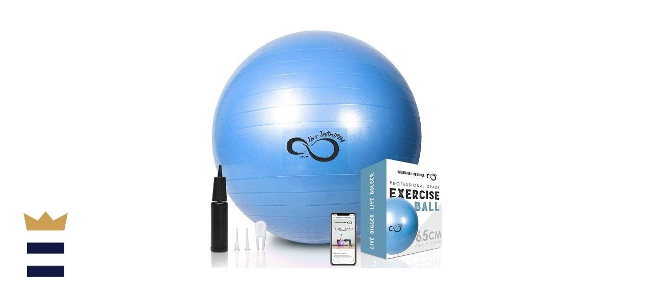 Live Infinitely's Exercise Ball