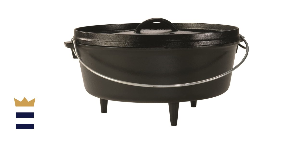 Lodge Cast Iron Camp 6-Quart Dutch Oven