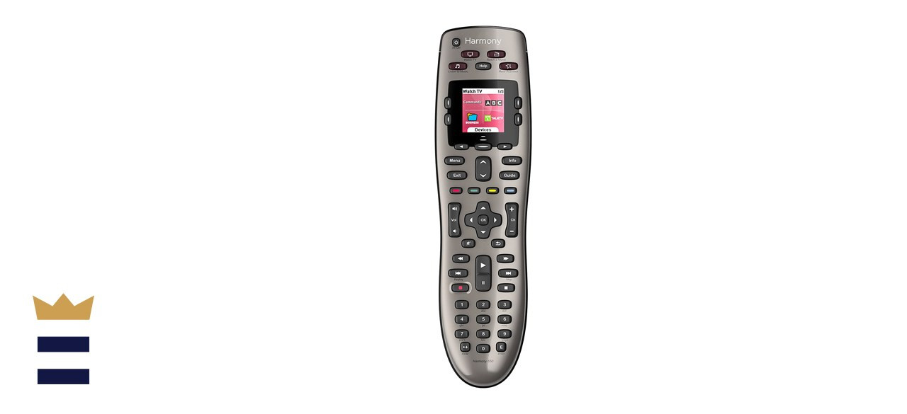 Logitech Harmony 650 Infrared All in One Remote Control