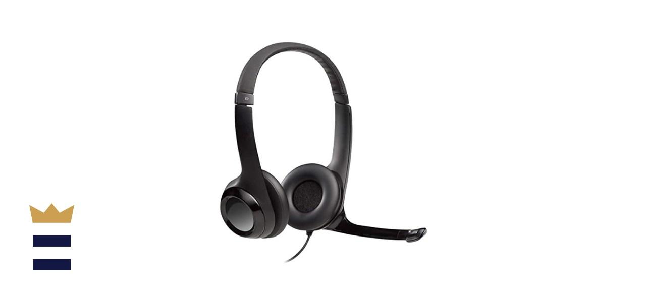 Logitech USB Headset with Noise-Canceling Mic