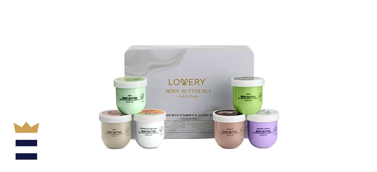 LOVERY Whipped Body Butter Scented Body Lotion Set