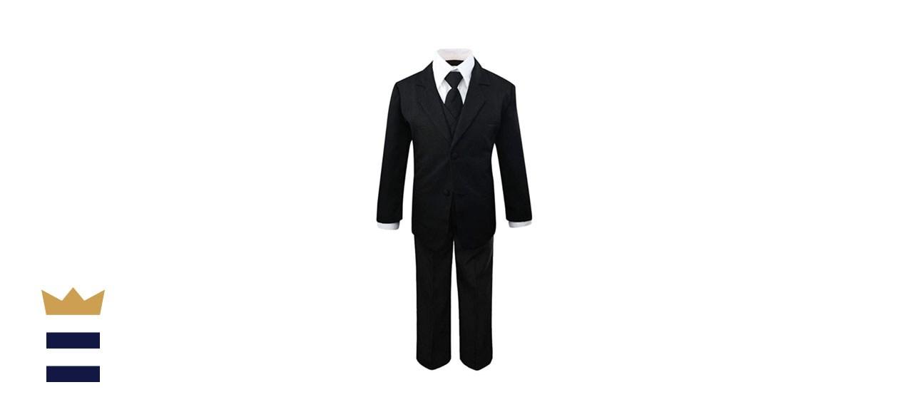 Luca Gabriel Five-Piece Classic Fit Suit Set