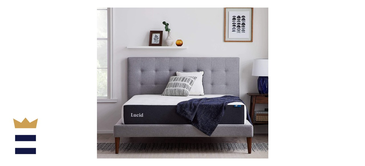 LUCID 10-Inch Gel Memory Foam Mattress