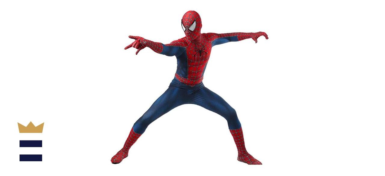 LuckB Superhero Spiderman Spandex Costume