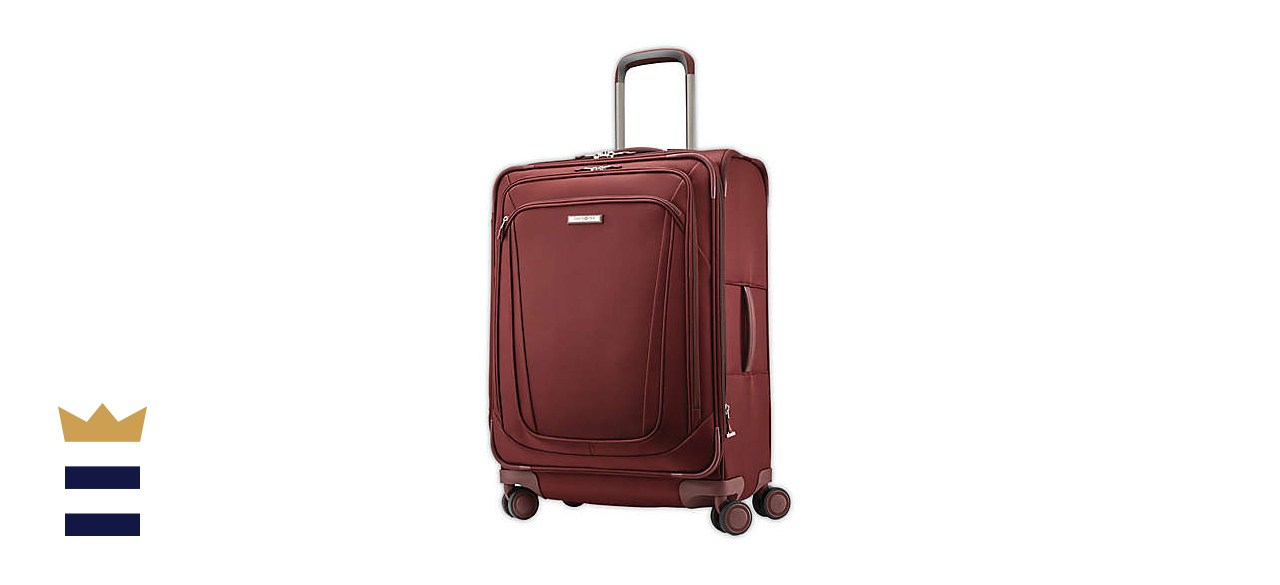 Samsonite® Silhouette 16 26-Inch Spinner Checked Luggage in Red