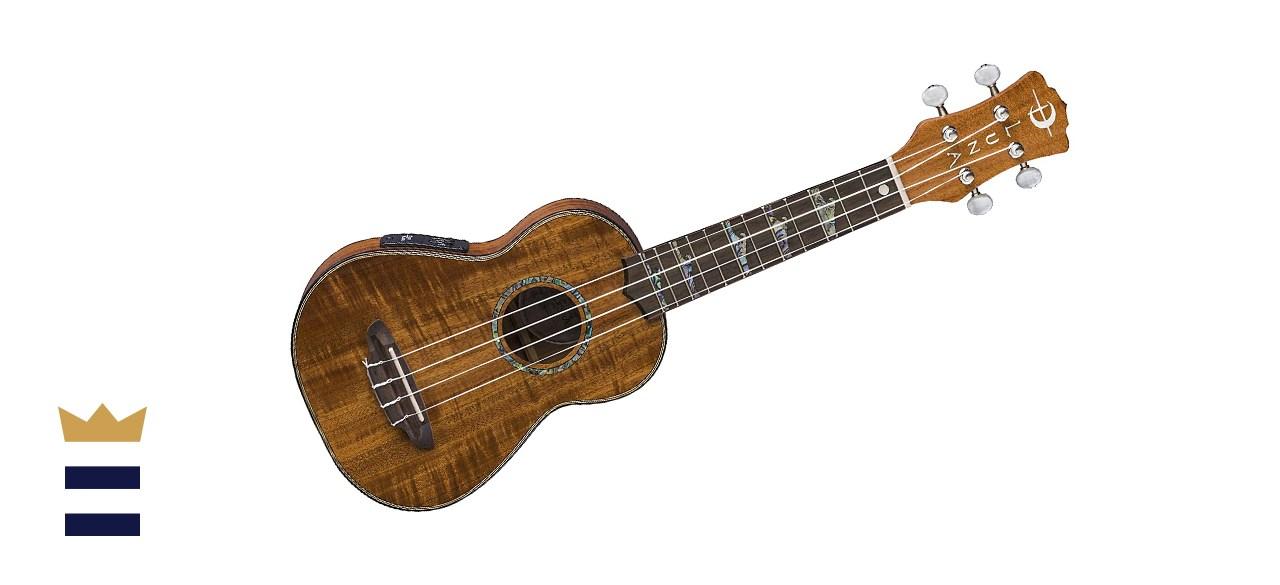 Luna High Tide Koa Acoustic/Electric Soprano Ukulele