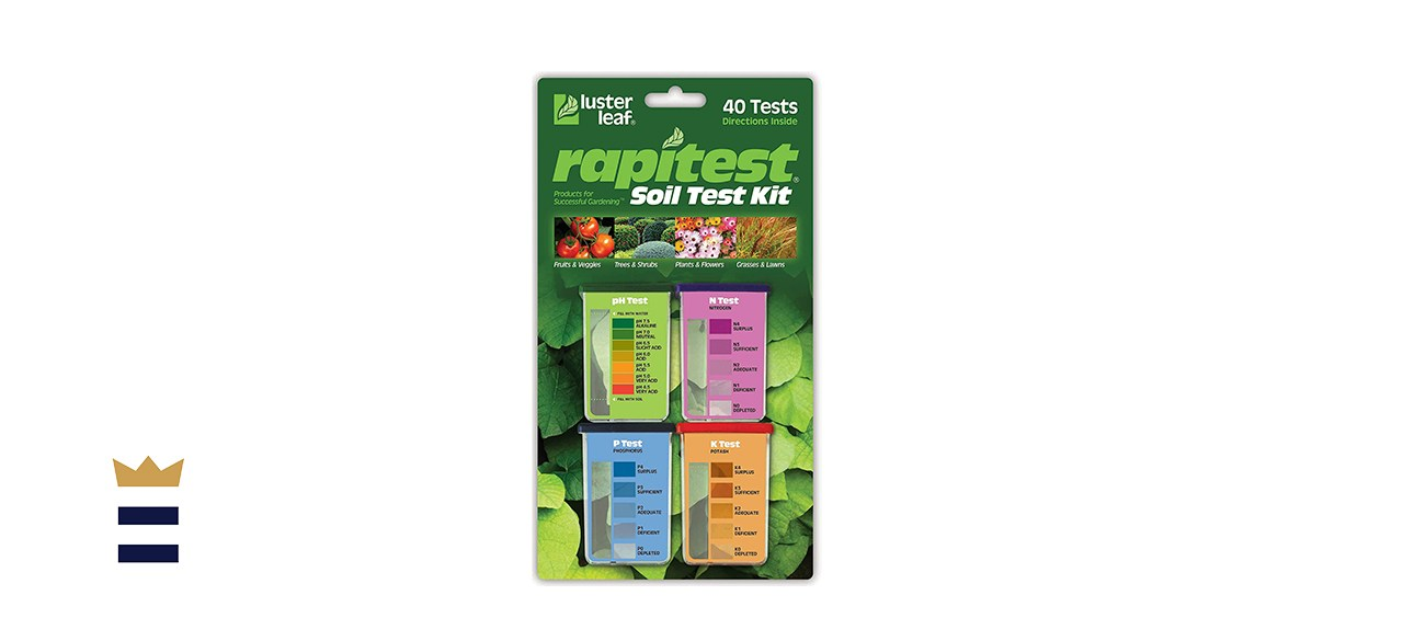 Luster Leaf 1601 Rapitest Test Kit for Soil
