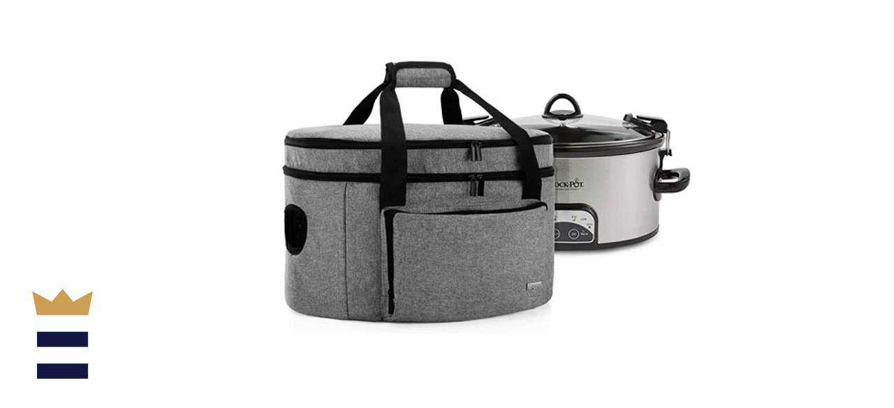 Luxja Double Layer Slow Cooker Ba