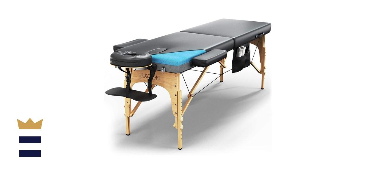Luxton Home Premium Memory Foam Massage Table