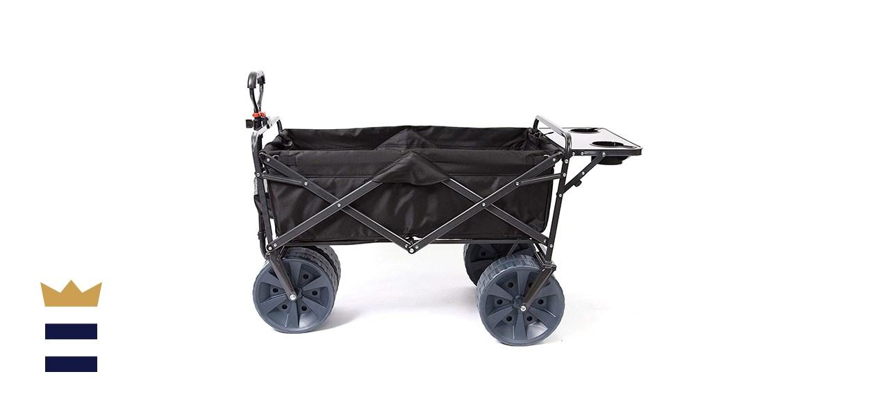 Mac Sports Heavy Duty Collapsible All-Terrain Beach Cart