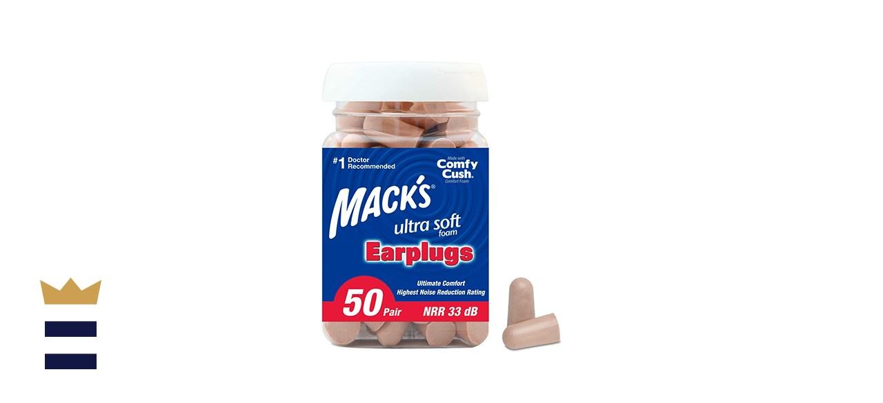Mack's Ultra-Soft Foam Earplugs