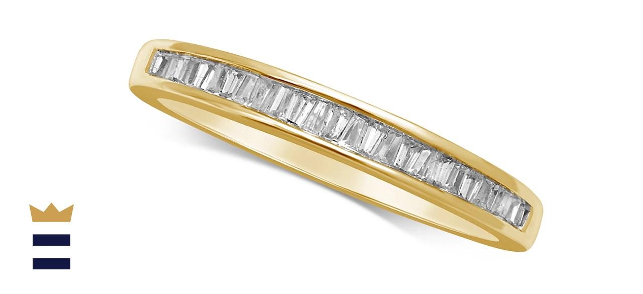 Macys Diamond Baguette in 14K White Gold