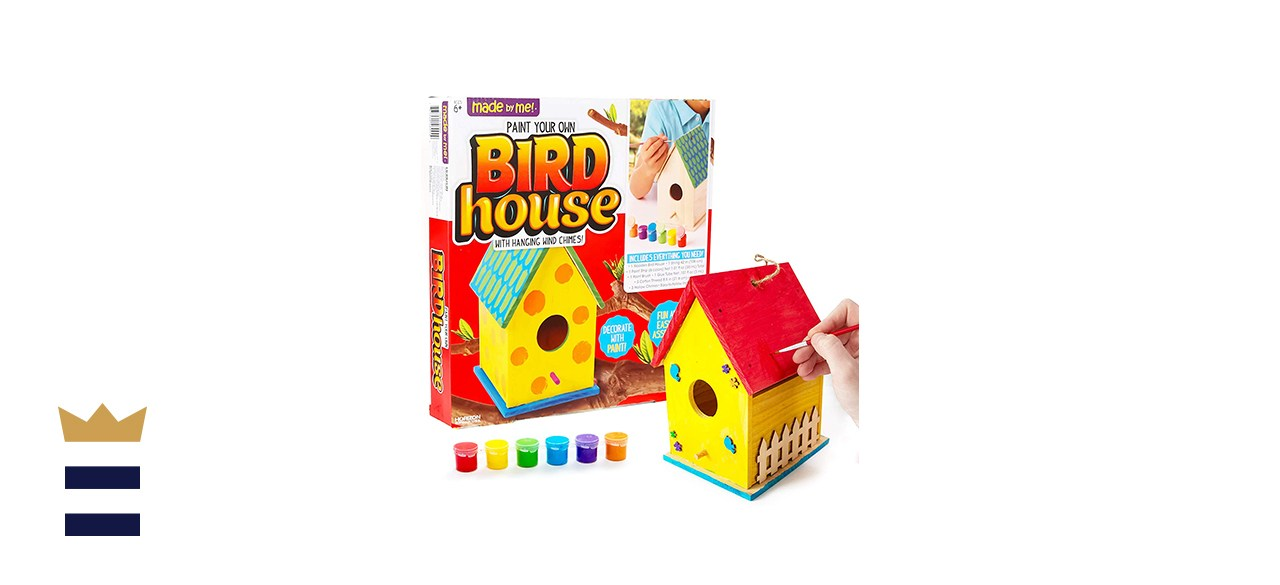 Made ByMe Build & Paint Your Own Wooden Bird House